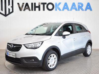 käytetty Opel Crossland X Enjoy More 1,2 Automaatti 81 kW AT6 **ACC, OnStar, IntelliLink-Multimedia, Ohjauspyörän Lämmity