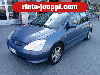 käytetty Honda Civic 1,6i ES 5d - Ilmastointi, 2+Alut, Sähkölasit, sähköpeilit, Kauko-ohjattu keskuslukitus...