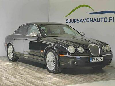 käytetty Jaguar S-Type 2,7D V6 Classic **SUOMI-AUTO / VAKIONOPEUDENSÄÄDIN**
