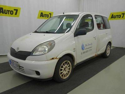 käytetty Toyota Yaris Verso 1,3 VVT-i Linea Luna, RUMA MUTTA TOIMIVA