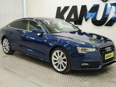 käytetty Audi A5 3.0 S-Line Quattro 180 KW / Juuri huollettu / Navi / Neliveto/ Tutkat