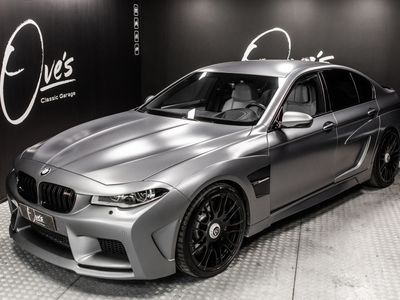käytetty BMW M5 M5 HamannMission widebody, 650hv, 21-tuumaiset Hamann Unique Forged Formula -vanteet, harvinaisuus, ajettu vain ...