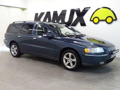 käytetty Volvo V70 D5 AWD Classic aut ## NELIVETO, PA-LÄMMITIN, KOUKKU, NAHKAVERHOILU ##