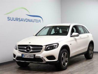 käytetty Mercedes GLC350 e 4Matic A Premium Business ** TIMANTINVALKOINEN, LED, KAMERA, EASY-PACK, NAVI, 1-OMISTAJA **