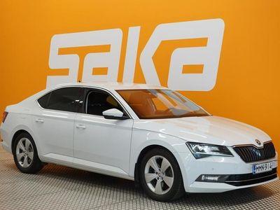 käytetty Skoda Superb 2,0 TDI 190 Ambition ** Suomi-auto / Polttoainekäyttöinen lisälämmitin / Tutkat / Vakkari / Koukku *