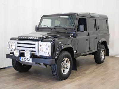 käytetty Land Rover Defender 110 SVX Station Wagon - SVX, Tehtaan erikoismalli, Todella upea!