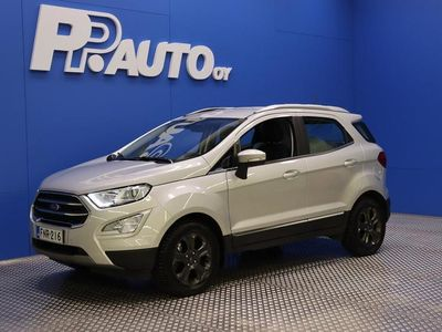 käytetty Ford Ecosport 1,0 EcoBoost 125hv A6 Titanium 5-ovinen - Ecosportiin Parking Pack & Winter Pack 0€ ! - Edullinen rahoitus jopa 72kk ilman käsirahaa, kysy! Talvimarkkinat 1.-31.1.2021
