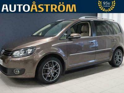 käytetty VW Touran Highline 2,0 TDI 125 kW (170 hv) DSG-automaatti 7-PAIKKAINEN *Suomi-auto* *Kunnon varusteet*