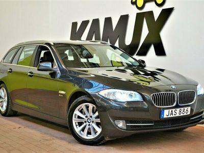 käytetty BMW 528 i | xDrive | Nahkaverhoilu | Vetokoukku | 2x-renkaat |