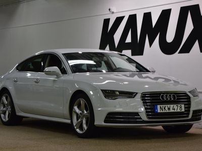 käytetty Audi A7 3.0 TDI V6   Quattro   Lämmitin   Bose   Navi   320hv