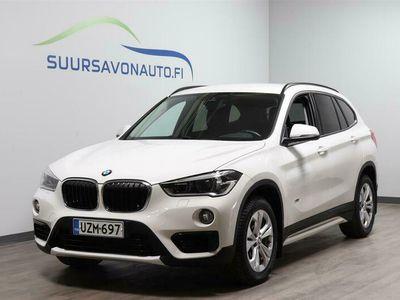 käytetty BMW X1 F48 xDrive18d Business Sport**VETOKOUKKU/SÄHKÖINEN TAKALUUKKU/URHEILUISTUIMET**