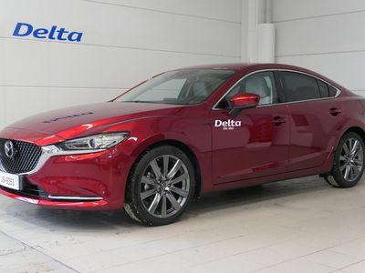 käytetty Mazda 6 Sedan 2,0 (165hv) Skyactiv-G Luxury Business AT White**Nyt tähän autoon korko 0,49%+kulut huoltorahalla**