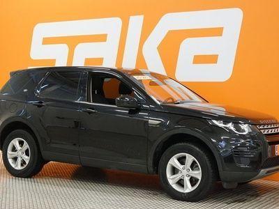 käytetty Land Rover Discovery Sport SD4 SE Luxury Aut 5+2 First Edition ** 7-paikkainen / Navi / P-kamera / Handsfree / Lasikatto / Lane