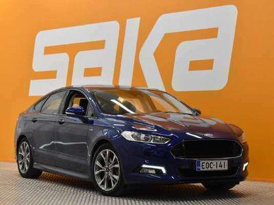 käytetty Ford Mondeo 2,0 TDCi 150hv PowerShift ST-line 5D ** Suomiauto / Webasto / Lämmitettävä tuulilasi / Bluetooth **