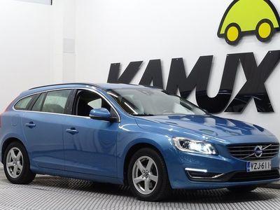 käytetty Volvo V60 2.0 Bifuel / Xenon / Juuri katsastettu / Kaarreajovalot