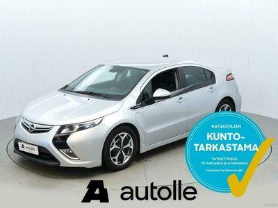 käytetty Opel Ampera KOTIINTOIMITUS 5-ov Cosmo 1,4 E-REV 111kW AT. Tarkastettuna, Rahoituksella, Kotiin toimitettuna