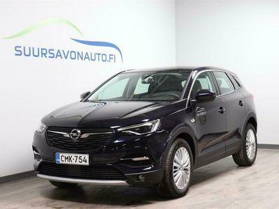 käytetty Opel Grandland X Innovation 1,2 Turbo Aut 130 hv AT8 **NETTOTARJOUS - 5 VUODEN TAKUULLA - KORKO 0% + kulut**