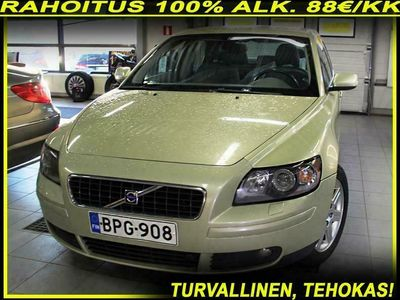 käytetty Volvo S40 2.4 Momentum Business A - RAHOITUS 100% ALK. 88€/KK -