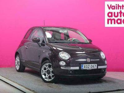 käytetty Fiat 500 Summer Edition 1,2 8v 69hv S&S Bensiini # Panorama # Ilmastointi # HIeno väri!