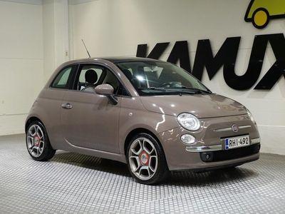 käytetty Fiat 500 1,2 69 Lounge / Suomi-auto / Jakohihna 100tkm / Rahoituksen käsiraha alk.0eur