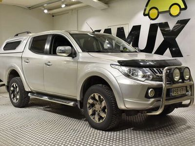 käytetty Mitsubishi L200 Double Cab 2,4 DI-D Magnum Instyle AT 2