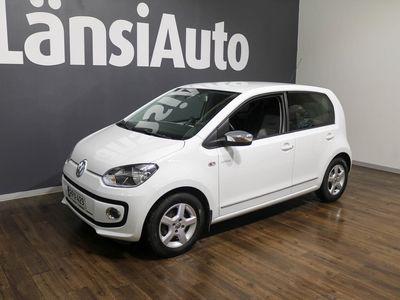 käytetty VW up! up! white1,0 55 kW (75 hv) automatisoitu vaihteisto 4-ovinen **** LänsiAuto Safe -sopimus hintaan 590€. ****
