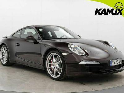 käytetty Porsche 911 Carrera 4S Coupé PDK / Bose / PASM / PDLS / Täysnahkasisusta