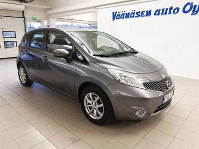 käytetty Nissan Note 1,2 Acenta 5MT *1-omistaja, Vak.nop.säädin, Autom.ilmastointi, Bluetooth*