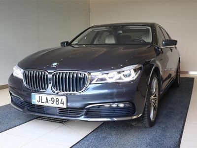 käytetty BMW 740 740 G11 Sedan e iPerformance A Business Exclusive, Yönäkö, Hieronnat, Imuovet, B&O, Näytöt,