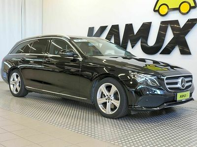 käytetty Mercedes E220 4MATIC 9G-Tronic / Webasto! / LED-Valot / Mercedes-Me / Adapt. vakkari / Navi / Koukku / Hyvin