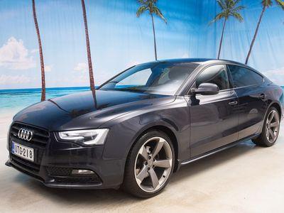 käytetty Audi A5 Sportback 2.0 TDI 130kW Black Edition quattro S stronic* WEBASTO // BI XENON // TUTKAT! * - *SUURI VARASTONTYHJENNYS!*
