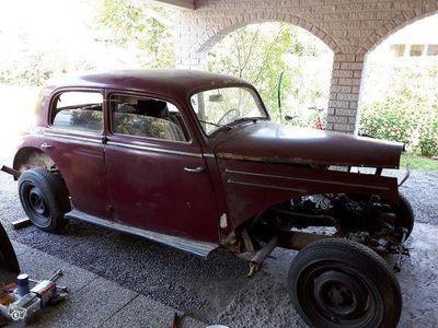 käytetty Mercedes 220 W187 1953 entisöintiprojekti