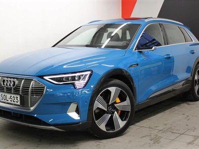 käytetty Audi E-Tron e-tron - 55 quattro Launch Edition, Valcona-nahkaverhoilu, Bang & Olufsen, Matrix, Panorama