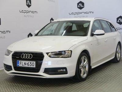 käytetty Audi A4 S-Line 2,0 TDI 140 Quattro S tronic / Webasto / Alcantara-Nahka verhoilu / Rahoitus