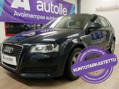 käytetty Audi A3 Sportback *KUNTOTARKASTETTU* Attraction Busin 1,8 TFSI 118 kW S-tronic Tarkastettuna, Rahoituksella, Kotiin