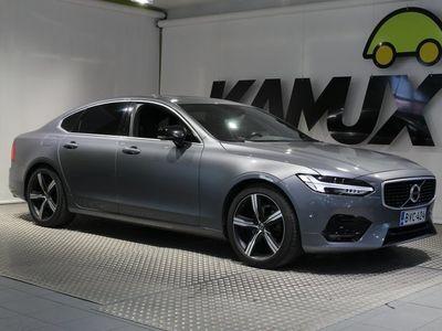 käytetty Volvo S90 D4 AWD R-Design **LED-valot / On Call / Peruutuskamera / Merkkihuollettu!**