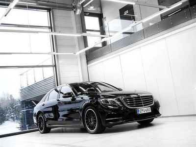 käytetty Mercedes S500 Plug-In Hybrid AMG Aut + Nahat + Navi + Burmester + Distronic + LED-valot + Surround View