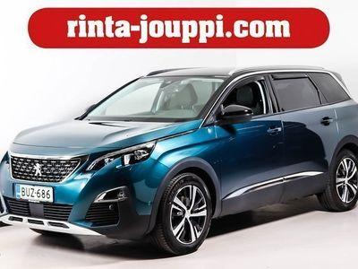 käytetty Peugeot 5008 Allure BlueHDi 120 Automaatti - 7-paikkainen - Merkkihuollettu - Lämpöpaketti