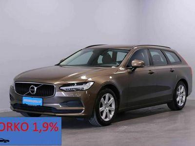 käytetty Volvo V90 D3 2.0 (150hv) BUSINESS Aut, Lisälämmitin, adap vakkari(pilot assist), navi ym. Korko 1,9%