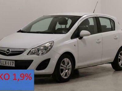 käytetty Opel Corsa 5ovi Enjoy 1,2 ecoFLEX S/S aut.ilmastoitu, vakkari ym. Korko 1,9%