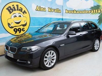 käytetty BMW 520 F11 A xDrive Business Exclusive Edition (MY16) ** SUOMI-AUTO * RUSKEA NAHKASISUSTA * SÄHKÖKOUKKU * S