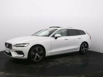 käytetty Volvo V60 T6 AWD Business Inscription A - rahoitustarjous 0 % + 2 vuoden huollot kaupan päälle Huippu varustee