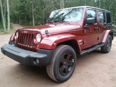 käytetty Jeep Wrangler Unlimited 3,8 V6 A4 SPORT