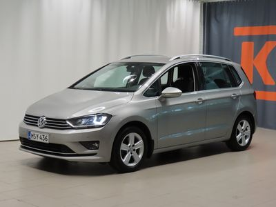 käytetty VW Golf Sportsvan Highline 1,4 TSI 92 kW (125 hv) DSG-automaatti *Webasto, vetokoukku, Xenon-valot*