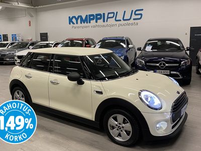 käytetty Mini ONE Hatchback102 hv A Business Pepper 5-ov ** Suomi-auto / LED-valot / Bluetooth / Cruise / Connected / RAHOI...