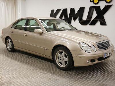 "käytetty Mercedes E200 Kompressor A ""Suomi-auto""Webasto""Vetokoukku"""