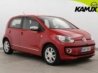 käytetty VW up! up! move1,0 44 kW (60 hv) / SUOMI-auto / Lohko + sisäpistoke / Ilmastointi /