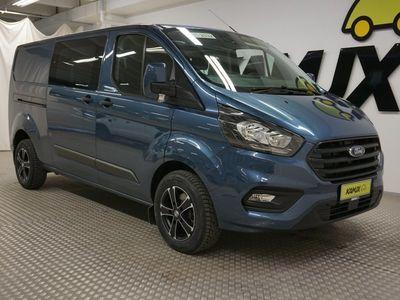 käytetty Ford Custom TransitL2H1 320 2.0TDCi 130hv M6 Trend Van Jatko-ohjaamo / ALV / Cruise / Lämmitetty tuulilasi //
