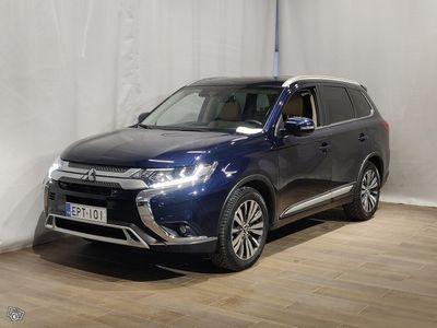 käytetty Mitsubishi Outlander 2,0 MIVEC Instyle NAVI 4WD CVT 7P **** Korko 0 % (+kulut) + 3kk eräpäivän siirto + min. 1500 EUR tak