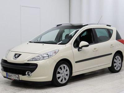 käytetty Peugeot 207 120 Platinum - Vähän ajettu 207, Ilmastointi, Panoraama-kattoikkuna, Seuraava katsastus 0